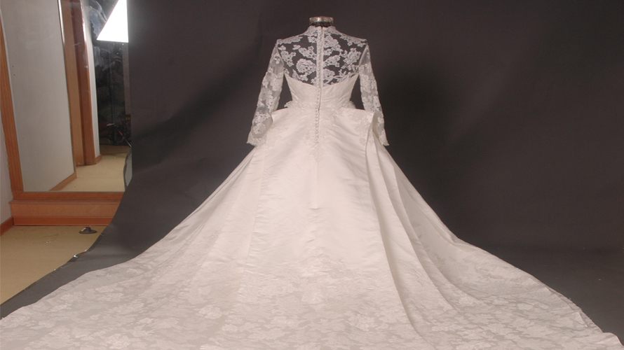 Wedding dress is a special one special care is required for Wedding dress stain removal